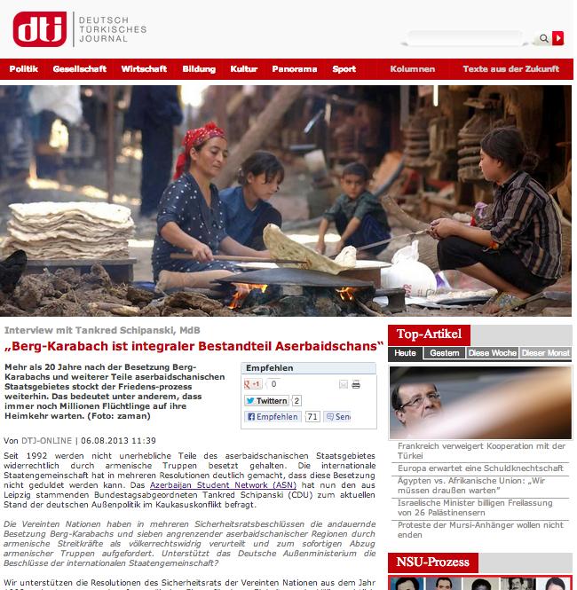 ASN Deutsch Türkisches Journal