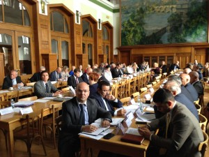 The third meeting of the joint intergovernmental commission for economic, scientific-technical and cultural cooperation between Azerbaijan and Czech republics in Prague .